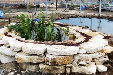 ביום ההפעלה כולל צמחי הגדה בתוך הפילטר