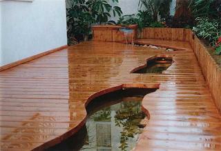 בריכת מים בבית משותף במרכז הארץ.