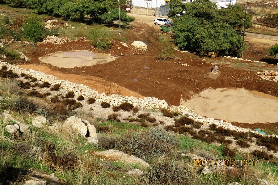 הכנת הקרקע ליציקות