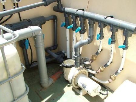 מערכת סינון יחודית תוצרת אקווה גן  הכוללת מערכת עיקור מים uv